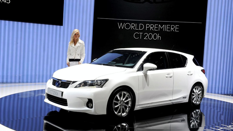 Lexus announces CT 200h pricing (US)