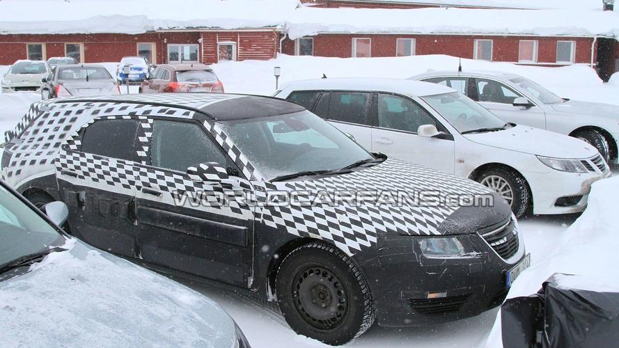 Saab 9-5 SportCombi Development Full Speed Ahead