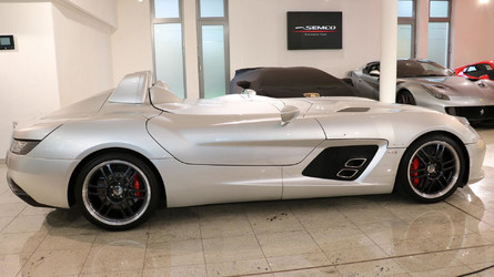 Barely Driven Mercedes SLR Stirling Moss Is Just Dreamy