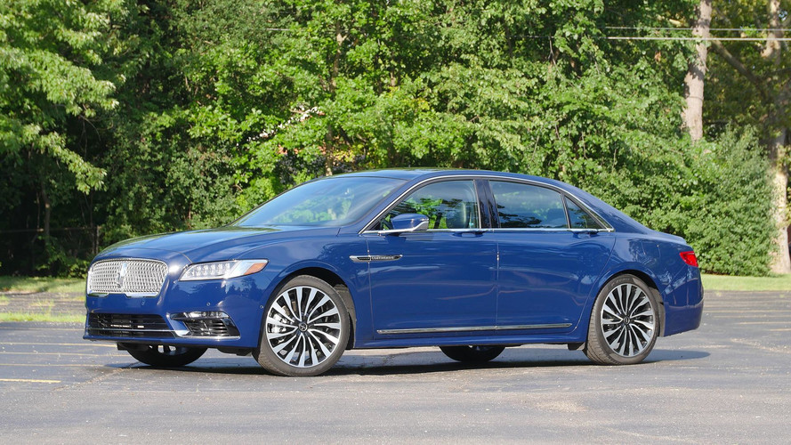 2017 Lincoln Continental Review: Feels Like Real Luxury