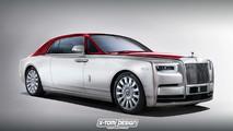 Rolls-Royce Phantom Renderings