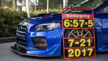 Subaru  WRX STI Type RA NBR Special tur rekoru