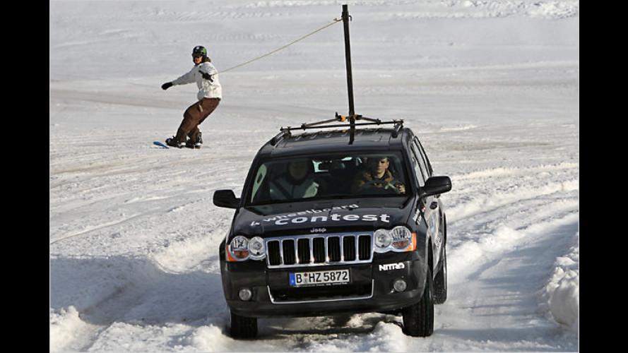 Jeep 4 wheelboard contest – eine Sportart entsteht