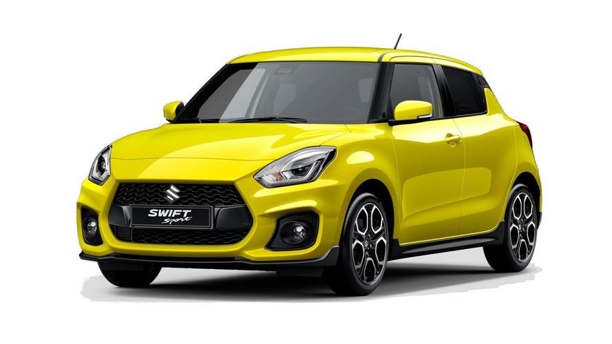 Suzuki Swift Sport de nova geração é revelado com motor 1.4 turbo