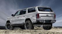 2020 Ford Bronco Rendering
