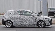 2018 Opel Corsa spy photo