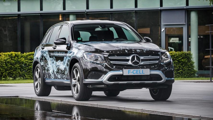 Mercedes GLC F-CELL plug-in hidrojen prototipi ortaya çıktı