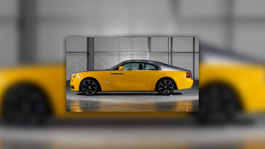 Rolls-Royce Wraith Bespoke Golden Yellow