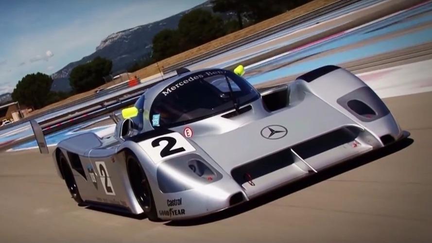 Vidéo : le prototype Mercedes de Michael Schumacher retrouve la piste