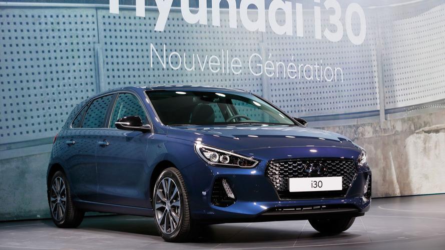 Yeni Hyundai i30 ilk kez Paris'te görücüye çıktı