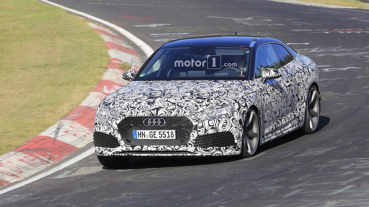 2018 Audi RS5 Coupe spy photo