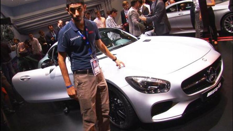 Mercedes AMG GT, la sportiva con il